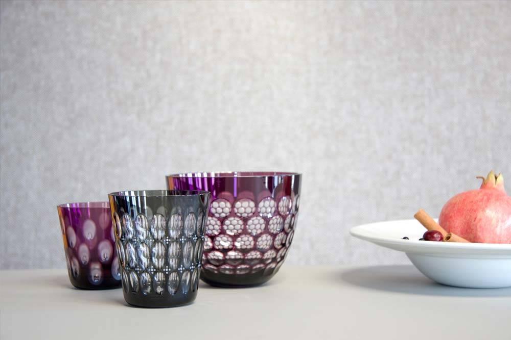 Rotter Glas Luebeck Kugelbecher und Smallbowl X-Mas 2017
