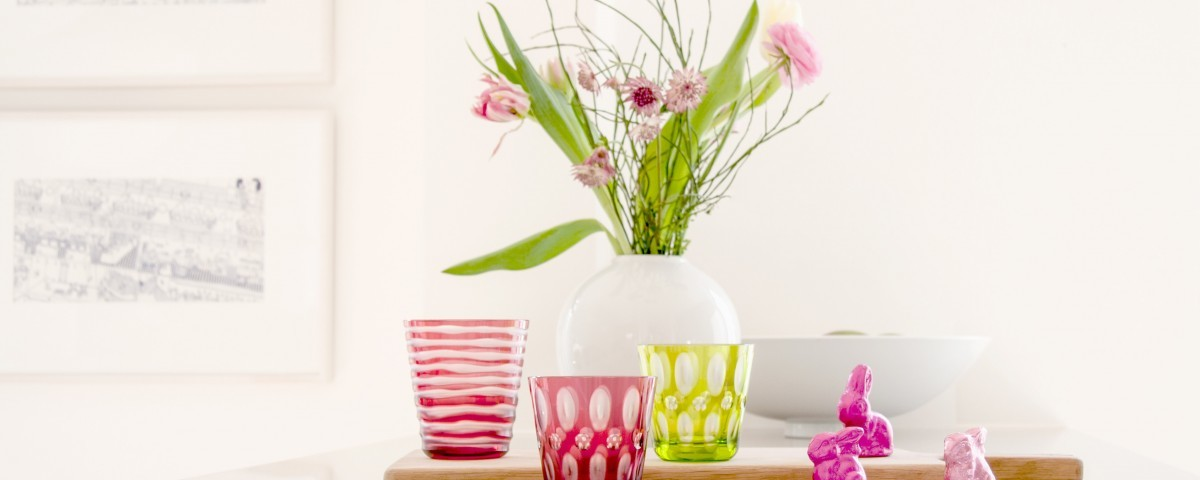 Rotter Glas Happy Easter 2018 Oster-Designs